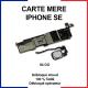 Carte mère pour iphone SE - 64 Go - Bouton home Blanc