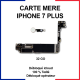 Carte mère pour iphone 7 plus - 32 Go - bouton home or rose
