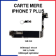 Carte mère pour iphone 7 plus - 128 Go - bouton home blanc